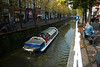 Delft: Riverbus in the Koornmarkt Canal