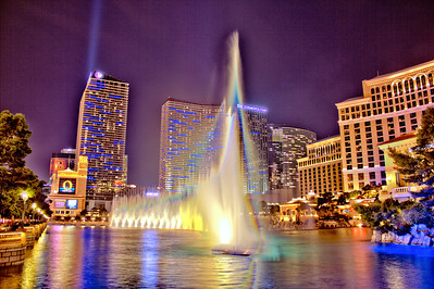 The Bellagio Pool as Art II