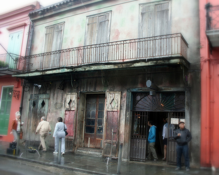 Preservation Hall is located in the French Quarter. Originally built as a private residence in 1750, the hall has evolved into a tavern, inn, photo studio and an art gallery. The inside of the hall contains portraits of the musicians who first filled it with the beautiful sounds of New Orleans Jazz.<br /> <br /> Preservation Hall opened its doors in 1961. The hall was created as a sanctuary, to protect and honor New Orleans Jazz which had lost much of its popularity to modern jazz and rock n roll.