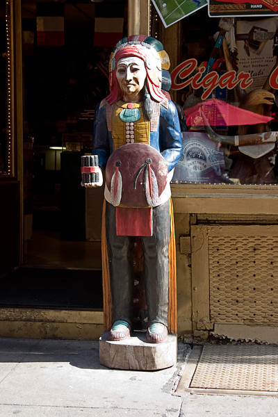 <center>Cigar Store Indian  <br><br>New York, NY</center>