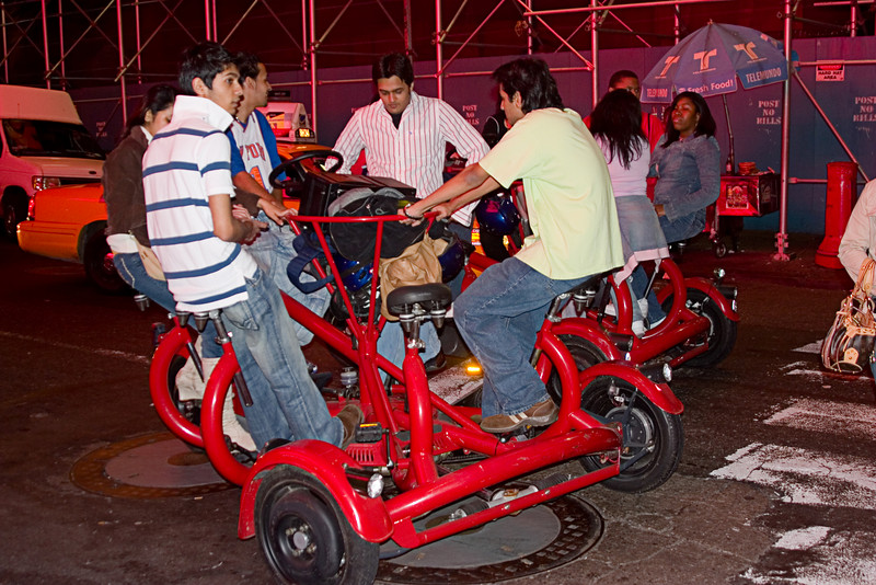 <center>Bicycle Built for Five  <br><br>New York, NY</center>