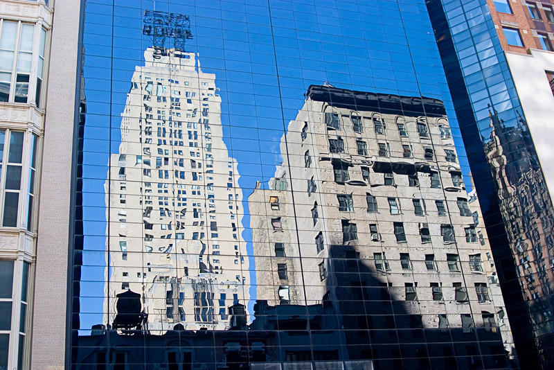 <center>Reflections in Glass  <br><br>New York, NY</center>