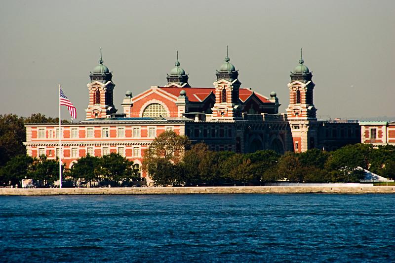 <center>Ellis Island  <br><br>New York, NY</center>