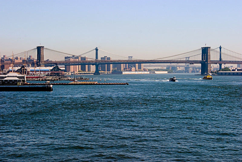 <center>Brooklyn Bridge  <br><br>New York, NY</center>