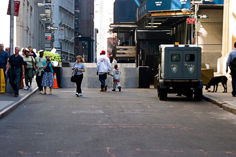 <center>Anti-terror barrier  <br><br>New York, NY</center>