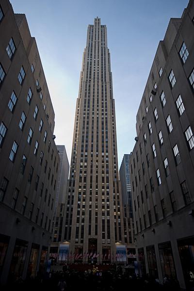<center>Rockefeller Center  <br><br>New York, NY</center>