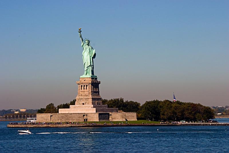 <center>Liberty Island  <br><br>New York, NY</center>