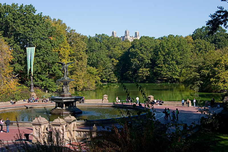 <center>Pools, Fountains, and Castles  <br><br>New York, NY</center>
