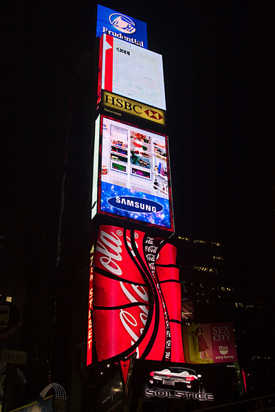 <center>Time Square  <br><br>New York, NY</center>