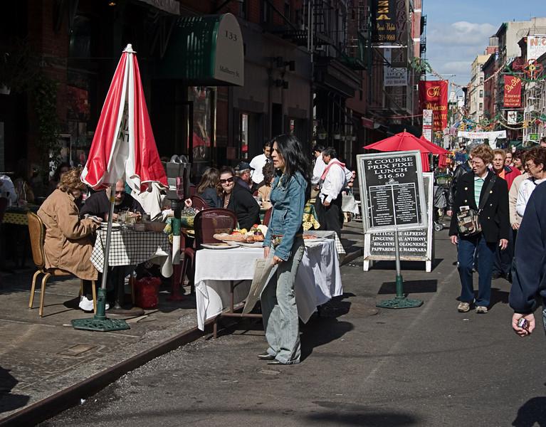 <center>Sidewalk Cafe  <br><br>New York, NY</center>