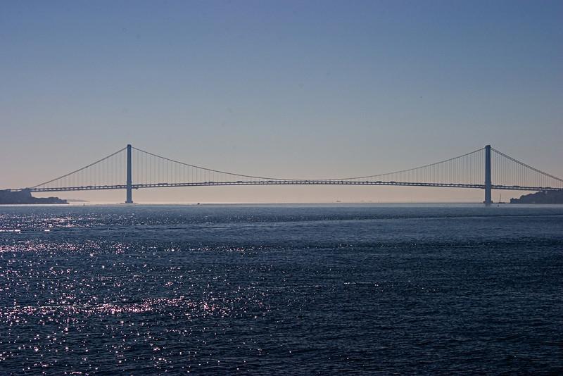 <center>Verrazano Narrows Bridge  <br><br>New York, NY</center>