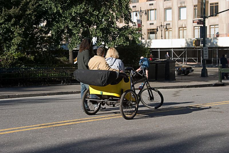 <center>Pedal Power  <br><br>New York, NY</center>