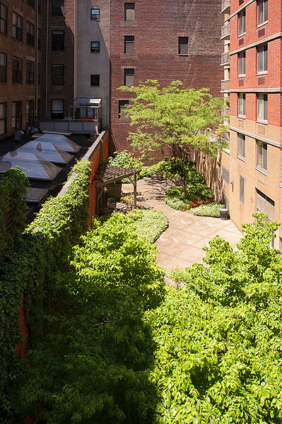 """The High Line looking west at the """"Pocket Park"""" between 23rd and 22nd Streets"""