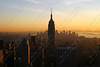 "3050-The sun setting on the Empire State Building in New York City <a href=""http://www.cwcphotography.com/gallery/1199387"">(8x12)</a>"