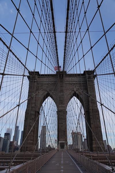 Symmetry on Brooklyn Bridge