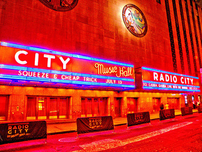 Rockford's Cheap Trick at the Radio City Music Hall