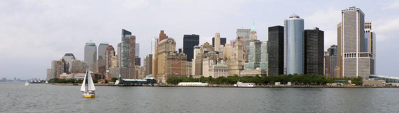 Lower Manhattan from Ellis Island