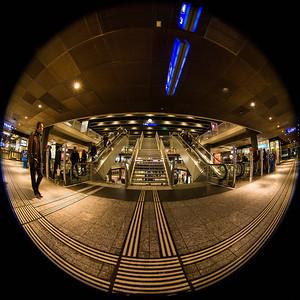 "Ebene ""Stadt"" im Bahnhof SBB, Bern"