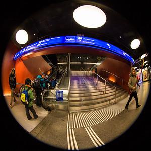 Aufgang zum Loeb im Bahnhof SBB, Bern