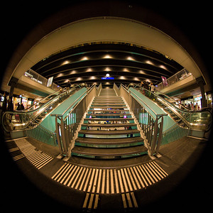 Treppen im Bahnhof SBB, Bern