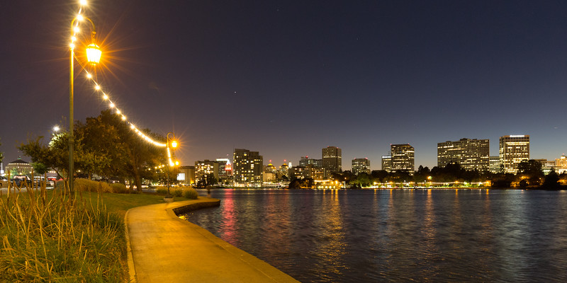 Oakland and Lake Merritt