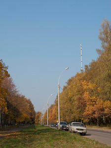 Obninsk in autumn