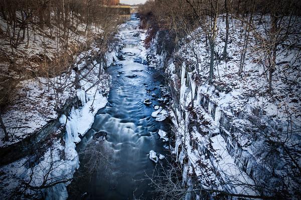 The High Bridge Glens in Winter