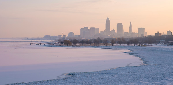 Winter Haze on Cleveland
