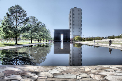 """Reflecting Pool"" Oklahoma Bombing Site Memorial"