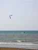 kite surfing, Oostende beach, Belgium<br /> Konica Minolta Dimage A2