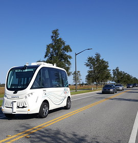 Autonomous shuttle service launches in Orlando