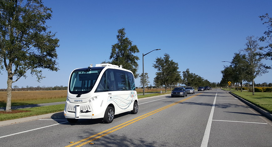 Autonomous shuttle service launches in Orlando