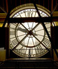 Paris, Musée d'Orsay, interior view of outdoor clock on face of building