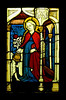 Musée de Cluny, Paris, France, stained glass window from the Workshop of Peter Hemmel, of Andlau, Strasbourg, circa 1483
