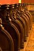 Musée de Cluny, Paris, France, choir stalls from Saint Lucien de Beauvais