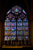 Notre Dame de Paris, Paris, France, stained glass window