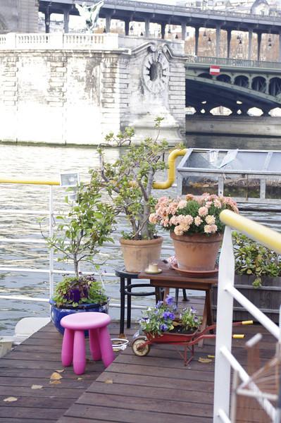 River boat on the Seine