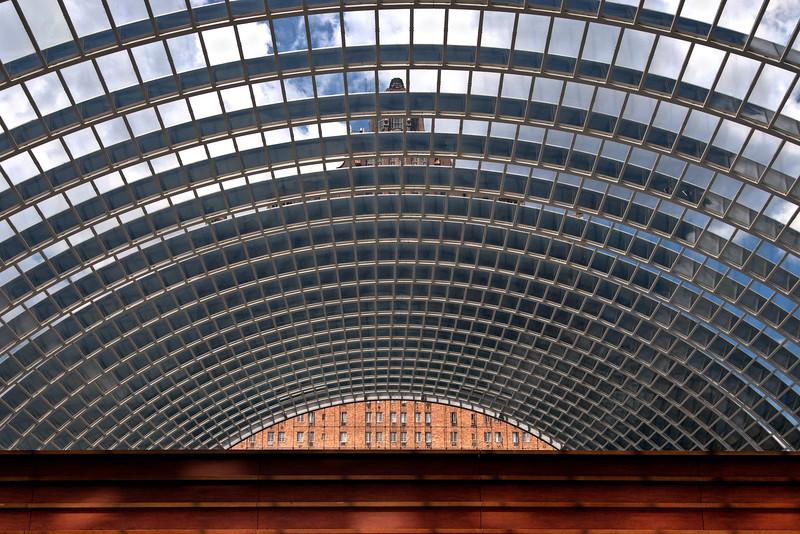 Rooftop atrium of the Kimmel Center