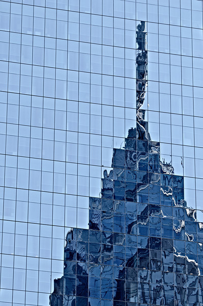 One Liberty Place Spire Relection