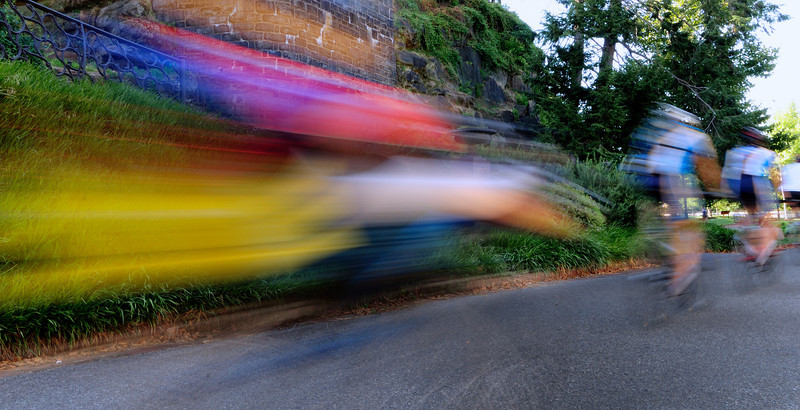Bicycle Blur on Waterworks Drive