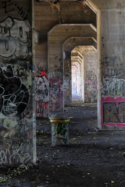 Bollard Hallway