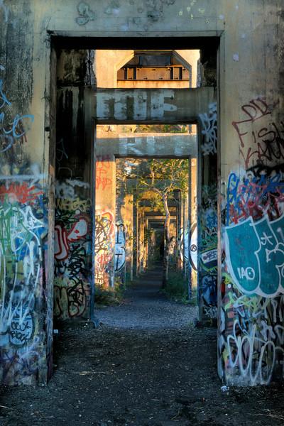 Morning Lit Hallway