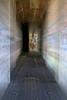 Receding Monolith (zoom blur)