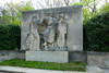 Public Art along the Schuylkill River, Philadelphia, PA<br /> Ellen Phillips Samuel Memorial Sculpture Garden - Henry Kreis (1899-1963),<br /> The Birth of a Nation (1943).
