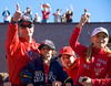 Philadelphia Phillies World Series Victory Parade 2008, Philadelphia, PA. Phillies pitcher, Jamie Moyer with part of family.