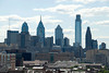 View from the Ben Franklin Bridge, Philadelphia Skyline