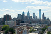 View of the Philadelphia Skyline from the Ben Franklin Bridge