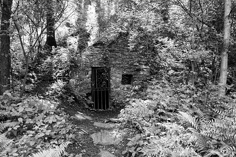 Spring Cellar out building at Wissahickon Park of Fairmount Park
