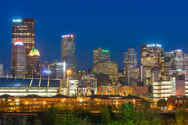 Pittsburgh Blue Hour (From The North Side)