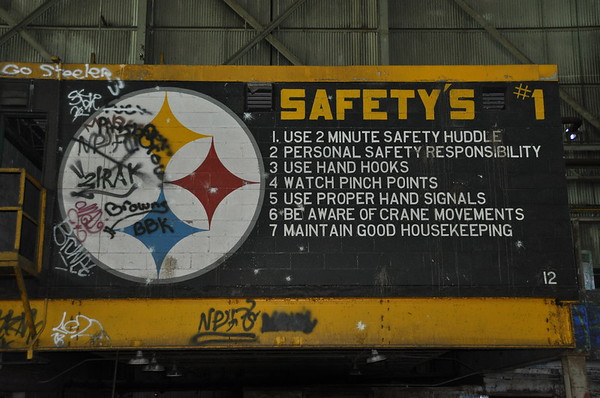 Safety's #1 (sic)